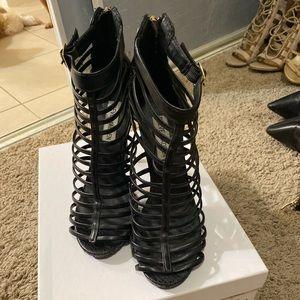 Black heels